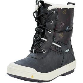 Keen Kelsa Tall WP Boots Kids black/tibetan red